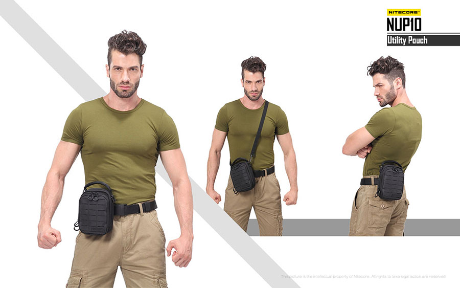 15464127f1 ΤΣΑΝΤΑΚΙ NITECORE TACTICAL POUCH NUP10